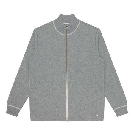 Jersey Zip-Through Sweat Top