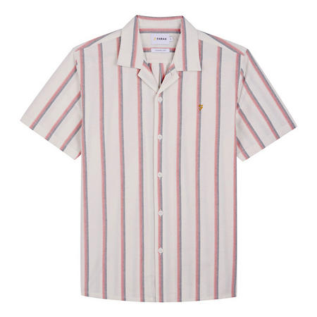 Saunderson Slim Fit Striped Shirt