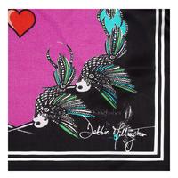 Kingfisher Silk Scarf