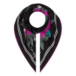 Kingfisher Silk Scarf