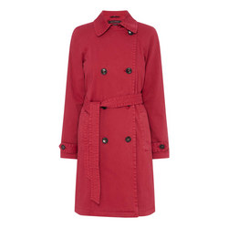 Garment Dyed Trench Coat