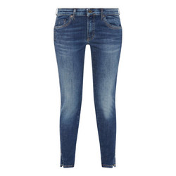100% high quality discount buying cheap Marc O Polo Lulea Slim Cropped Jeans - Blue