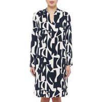 Geometric Shirt Dress
