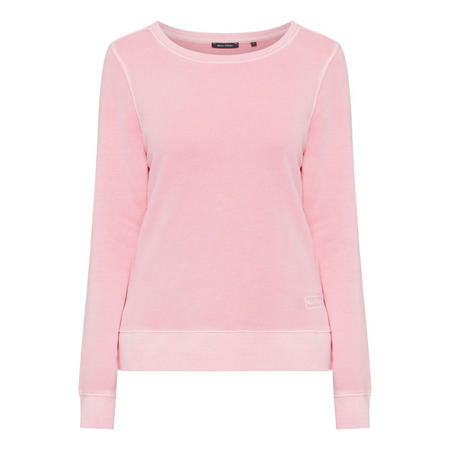 Back Print Sweater