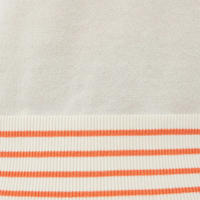 Solid Stripe Pullover Sweat Top
