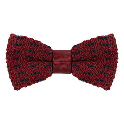 Knitted Pattern Tie