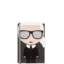 Karl Iconic Miniature Clutch