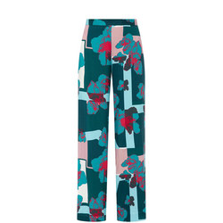Square Printed Trousers