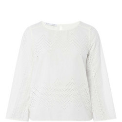 Lou Broderie Blouse