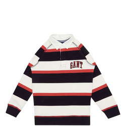 Rugby Stripe Polo Shirt Kids