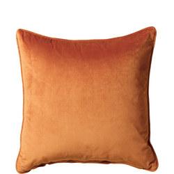Belini Velour Cushion Terracotta 45cm x 45cm