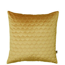 Halo Cushion Antique Gold  45 x 45cm