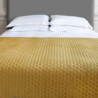 Halo Bedspread Antique Gold