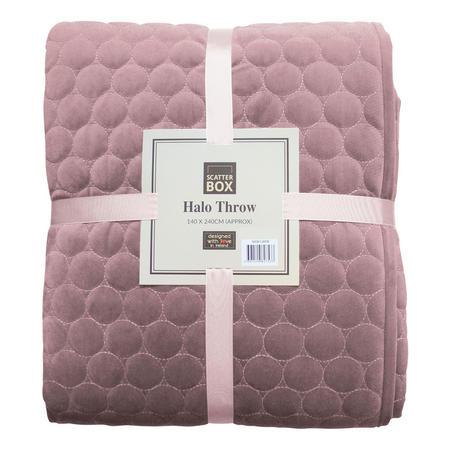 Halo Bedspread Lilac