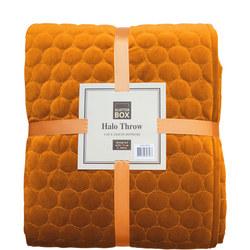 Halo Bedspread Pumpkin