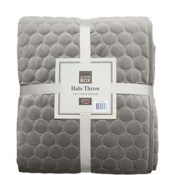 Halo Bedspread Taupe
