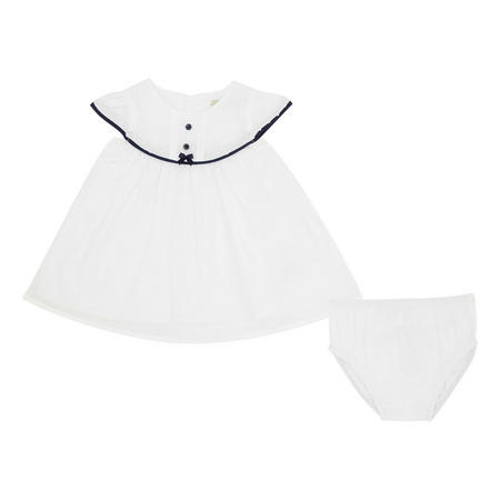 Two-Piece Dress and Bloomers Set
