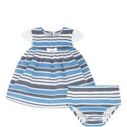 Stripe Dress And Bloomers Set Baby