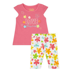 Two-Piece T-Shirt and Leggings Set