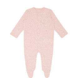 Star Print All-In-One Pyjamas Baby