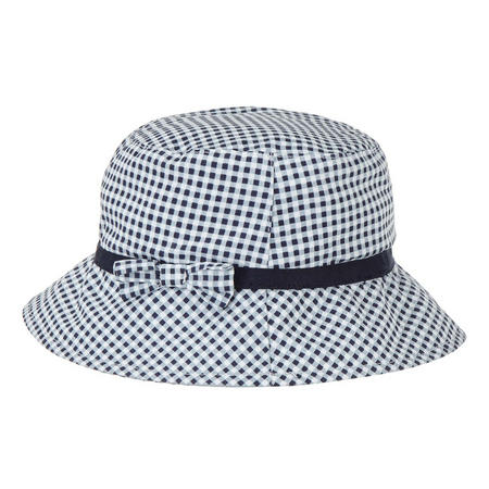 Gingham Bow Bucket Hat