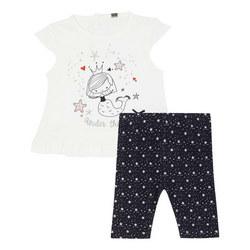 Two-Piece Mermaid T-Shirt and Leggings Set