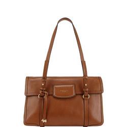 Sandler Street Large Flapover Shoulder Bag