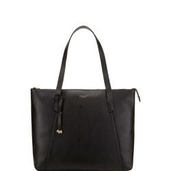 Wood Street Large Zip-Top Shoulder Bag