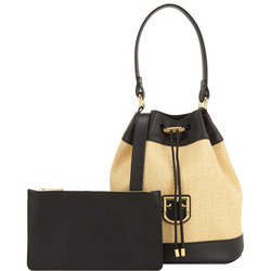 Corona Drawstring Bucket Bag