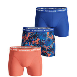 Three-Pack Tropical Boxers