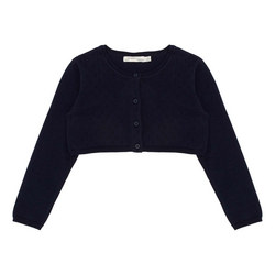 Cropped Button Cardigan