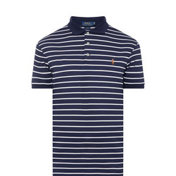 Striped Custom Slim Polo Shirt