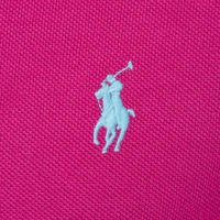 Embroidered Piqué Polo Shirt