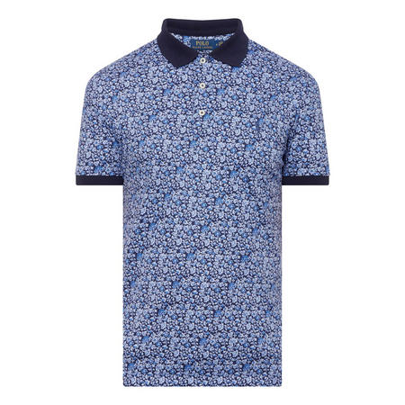 Floral Custom Slim Polo Shirt