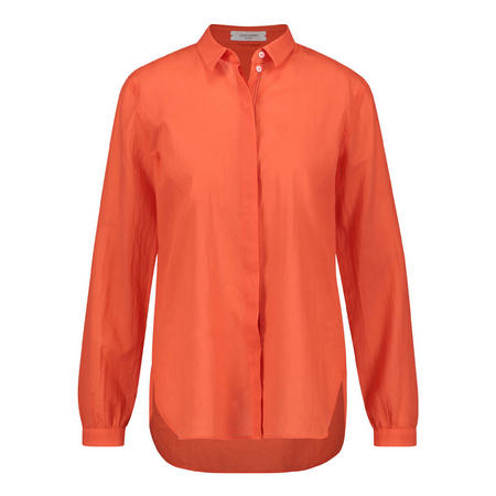 Voile Button-Up Shirt