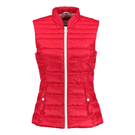 Longline Quilted Gilet
