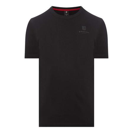 Ribbed Graphic Logo T-Shirt