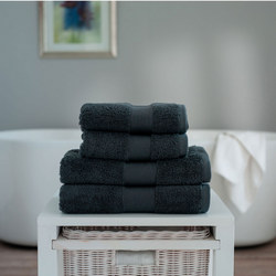 Cleopatra Towel Dark Steel