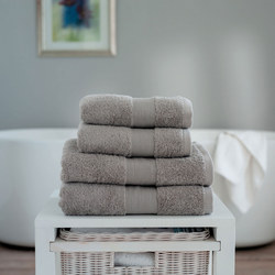 Cleopatra Towel Light Grey