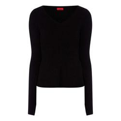 Satinkly Peplum Sweater