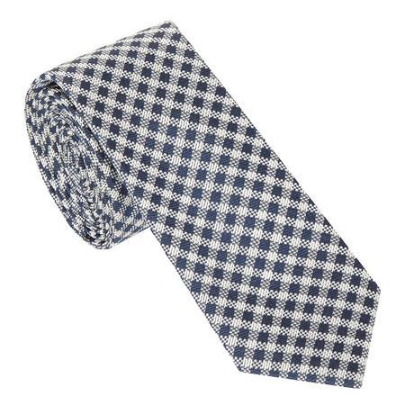 Gingham Textured Tie