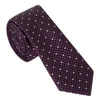 Diamond Dot Textured Tie