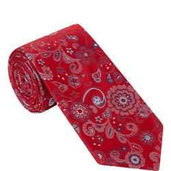 Floral Textured Tie