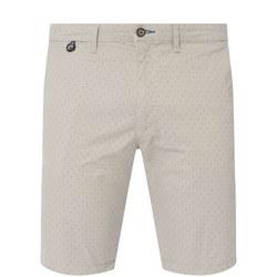 Micro Print Shorts