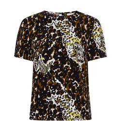 Heridis Leopard Print T-Shirt