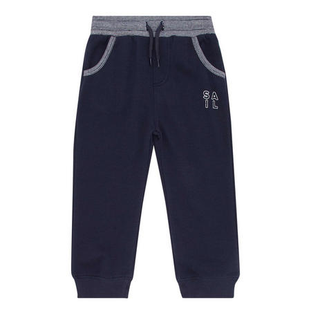 Contrasting Trim Sweat Pants