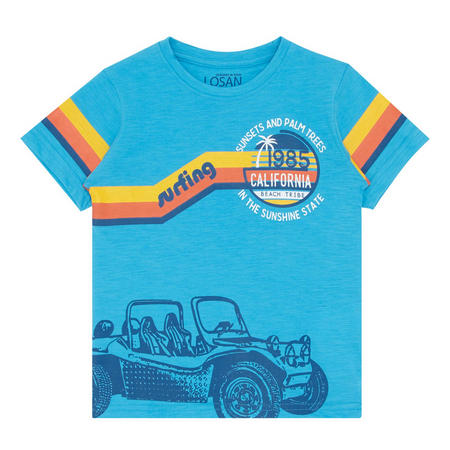 Surfing Print T-Shirt