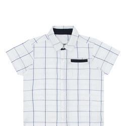 Wide Check Shirt
