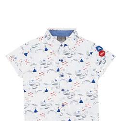 Whale Print Shirt
