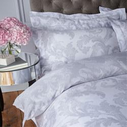 Acanthus Oxford Pillowcase Grey
